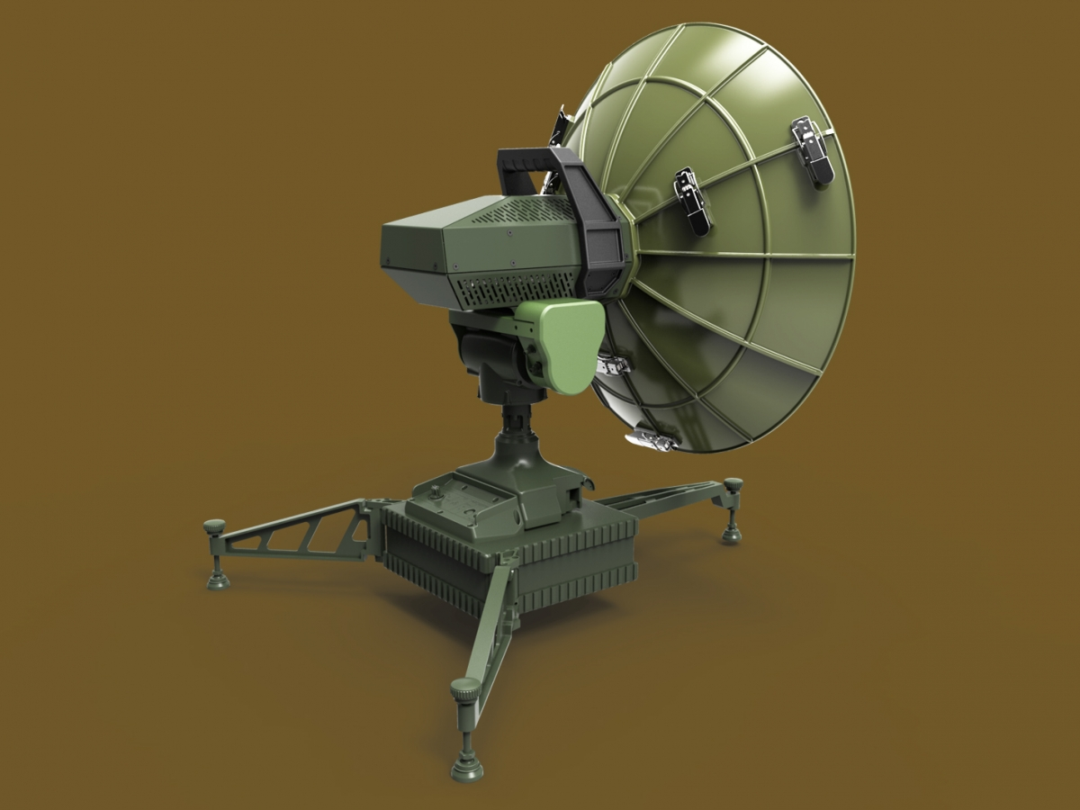 Military Satellite Antenna-1